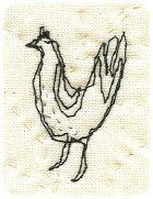 Chicken embroidery - Blog