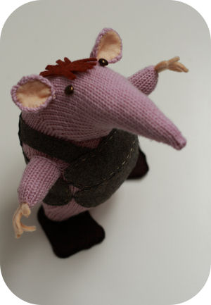The Clangers Knitting Pattern : Clanger