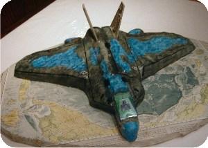 F/A-22 Raptor cake