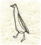Runner duck embroidery - Free Patterns